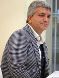 Nichi Vendola becomes a father Stock Photography