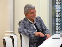 Nichi Vendola becomes a father Royalty Free Stock Photography