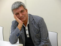 Nichi Vendola becomes a father Stock Photos
