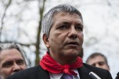 Nichi vendola SEL Präsident stockfotos