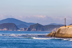 Nichinan coastline in Miyazaki, Kyushu, Japan.  Royalty Free Stock Photos