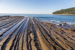 Nichinan coastline from Phoenix, viewpoint in Miyazaki, Kyushu,. Japan Stock Image