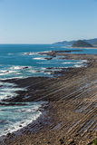 Nichinan coastline from Phoenix, viewpoint in Miyazaki, Kyushu,. Japan Stock Photos