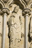 Nicholas świątobliwa Statua, Salisbury Fotografia Royalty Free