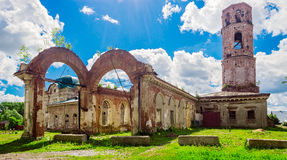 Nicholas cathedral in nolinsk Royalty Free Stock Photo
