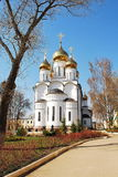 Nicholas Cathedral in St. Nicholas Monastery Peres Stock Photo