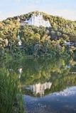 Nicholas Church sur la colline de craie Photographie stock