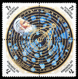 Nicholas Copernic-Briefmarke stockfotografie