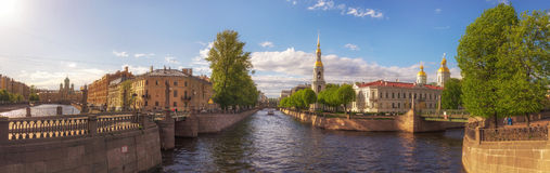 Nicholas Epiphany Naval Cathedral Στοκ φωτογραφία με δικαίωμα ελεύθερης χρήσης