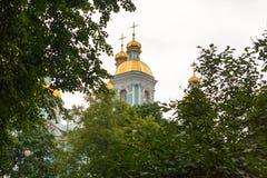 Nicholas-Epiphany Naval Cathedral Royalty Free Stock Photo