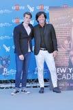 Nicholas Galitzine και Michael Damian στο φεστιβάλ 2016 ταινιών Giffoni στοκ εικόνα με δικαίωμα ελεύθερης χρήσης