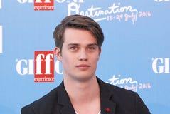 Nicholas Galitzine στο φεστιβάλ 2016 ταινιών Giffoni στοκ φωτογραφία
