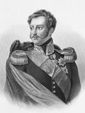 Nicholas I Emperor of Russia. (1796-1855) on engraving from the 1800s. Emperor of Russia during 1825-1855. Engraved by A.H.Payne Stock Photo
