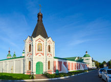 Nicholas Ilinskaya Chapel of Spaso-Preobrazhensky Monastery, Mur Royalty Free Stock Images