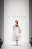 Nicholas K - Semaine de mode de New York images stock