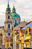nicholas katedralny st Prague Zdjęcie Stock