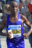 Nicholas Kipkorir Chelimo - Prague marathon 2015 Stock Images