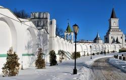Nicholas kloster nära Moscow Arkivbilder
