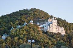 Nicholas kościół na kredowym wzgórzu Obrazy Royalty Free