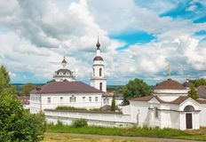 Nicholas Monastery in Maloyaroslavets Royalty Free Stock Image