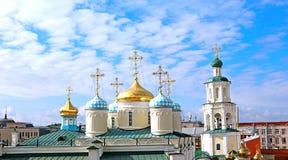 Nicholas (Nikolsky) Kathedraal in Kazan Royalty-vrije Stock Afbeelding