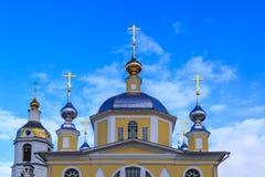 Nicholas Shartomsky Monastery, église de porte Images libres de droits