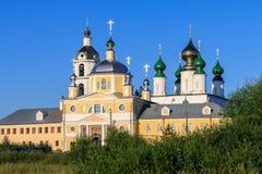 Nicholas Shartomsky monastery, summer day. Blue sky Royalty Free Stock Images