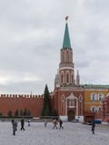 Nicholas Tower do Kremlin Fotos de Stock