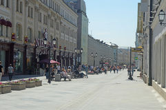 Nicholas ulica Moskwa Obraz Royalty Free