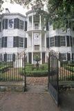Nicholas Ware Mansion, Augusta, Georgië Stock Afbeeldingen