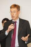 Nicholas  Winsor, HSBC Taiwan CEO Royalty Free Stock Photo