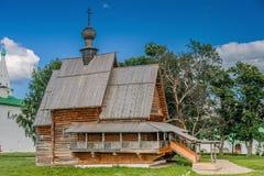 Nicholas Wood kyrka Arkivfoto