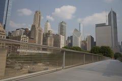 Nichols Bridgeway come in Chicago, IL Parco di millennio Immagine Stock