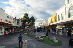 Nicholson Street dans Footscray Photo stock
