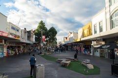Nicholson Street in Footscray Fotografia Stock