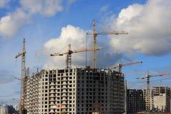 Nicht abgeschlossenes Gebäude Lizenzfreie Stockbilder