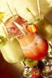 Nicht alkoholisches freshening Getränk vier Stockfoto