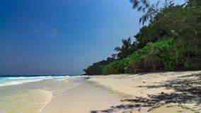 Nicht bewohnte Insel stockbild