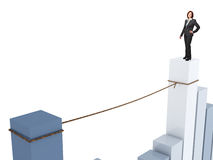 Nicht ein einfacher Job Lizenzfreies Stockfoto