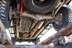 Nicht für den Straßenverkehr für Reparaturen Lizenzfreies Stockfoto