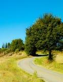 Nicht f?r den Stra?enverkehr in Toskana, Italien lizenzfreie stockfotos