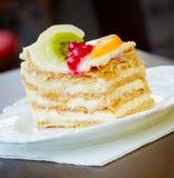 Frucht-Kuchen Stockfoto