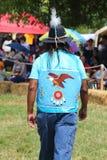 Nicht identifizierter amerikanischer Ureinwohner während 40. jährlichen indianischen Powwow Thunderbirds Lizenzfreie Stockfotografie