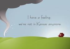 Nicht in Kansas-Farbe Lizenzfreies Stockfoto