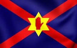 Nicht offizielle Flagge der Ulster-Nation Stockfotos
