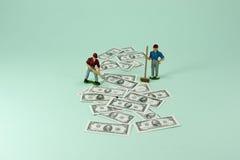 Nicht sicher, wo man Ihr Geld investiert? Lizenzfreie Stockfotos