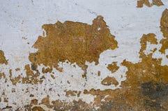 Nicht tun vergipste Wände des alten städtischen Gebäudes Stockbild