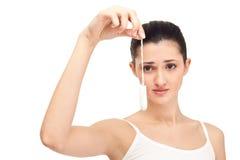 Nicht wieder Menstruation, Konzept Lizenzfreie Stockfotografie