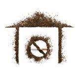 Nichtraucher im Haus Lizenzfreie Stockfotos