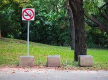 Nichtraucherbereichszeichen Stockfoto